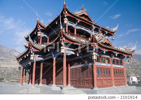 中国式建筑 路标 地标