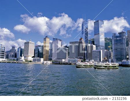 现代建筑 香港岛 建筑群