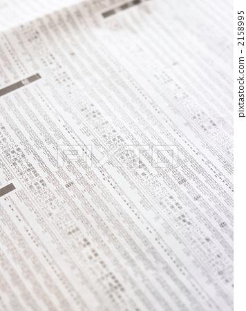 书籍 报纸 股票价格 后背 背景  股票价格 后背 背景 *pixta限定素材