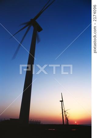 风车 风能发电机