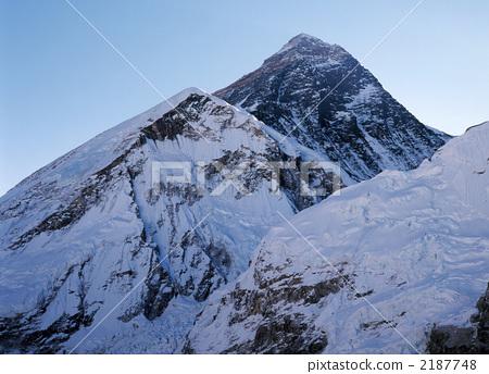 珠穆朗玛峰 喜马拉雅山 堆 首页 照片 风景_自然 山 雪山 珠穆朗玛峰