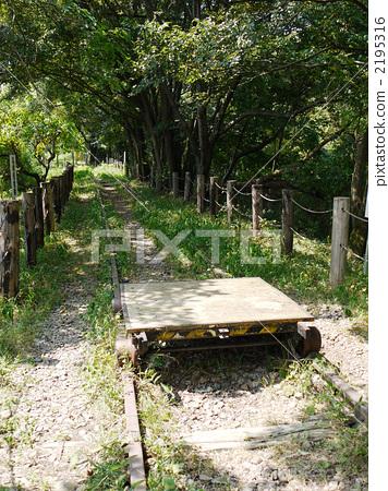 手推车 轨道车 已废弃的铁路线