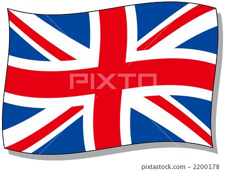 图库插图: 联合王国国旗 英国国旗 国旗