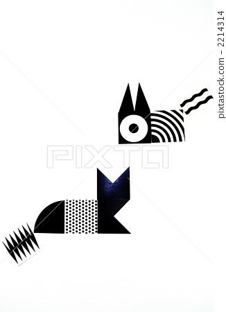 黑白的 单色 黑白-图片素材 [2214314] - pixta