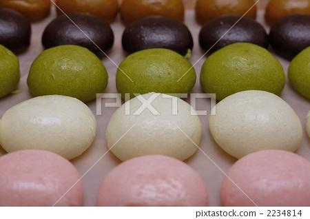 日本女馒头比图_图库照片: 馒头 和果子 日本糖果