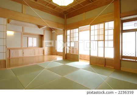 日式房屋 日式房间