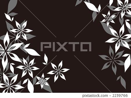 植物图案 画报 花