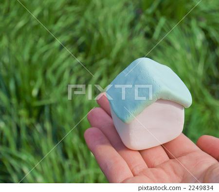 用粘土做东西 粘土工作 人类的手