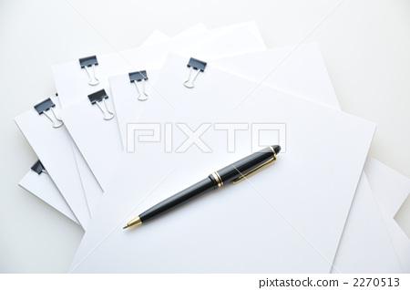 圆珠笔 笔纸