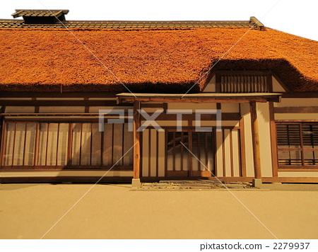 日式房屋 家 住宅的