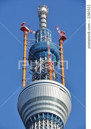 天线杆 晴空塔 无线电塔