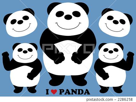 熊猫 动物群 动物宝宝