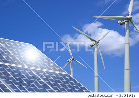 风车 风力涡轮机 风能