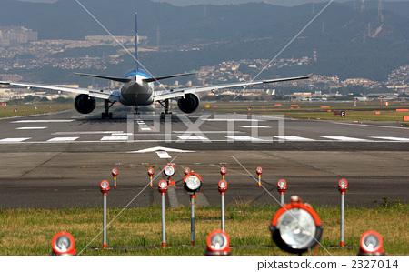 飞机 跑道 起飞