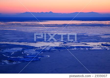 照片 运动_运动 冬季运动 花式溜冰 浮冰 风景 霜  *pixta限定素材仅