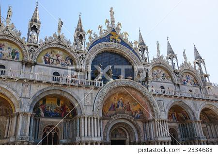 圣马可大教堂 窟 庙宇
