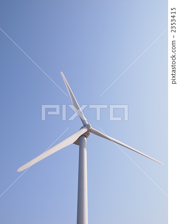 风力涡轮机 风能发电机 风车图片