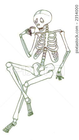插图素材: 骨架 骨头 骨骼