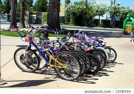 自行车 风景 美国