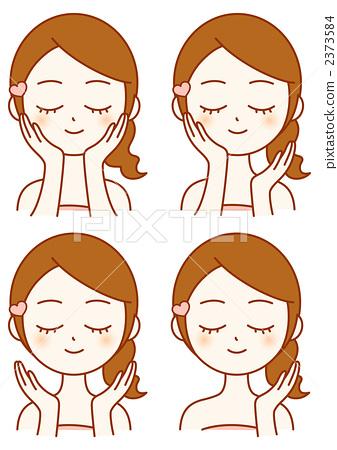 插图: 保养 脸部护理 护肤