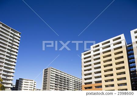房屋 社区 高层公寓大楼