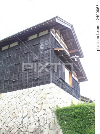 日式房屋 景色 乡下