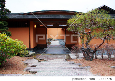 日式房屋 门 大门