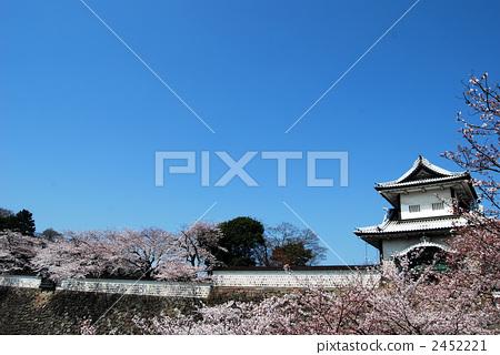 图库照片: 石川门 城堡 金泽