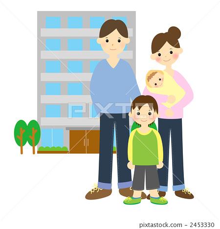 父母和小孩 家庭 孩子