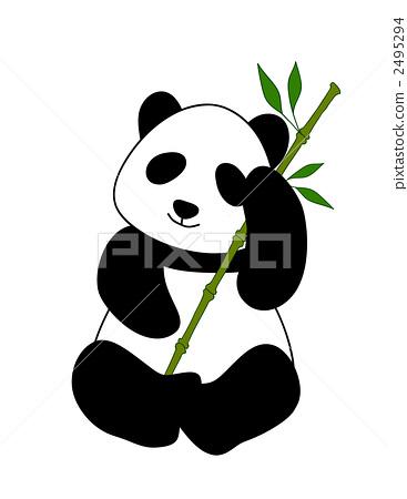 大熊猫 动物宝宝 动物群