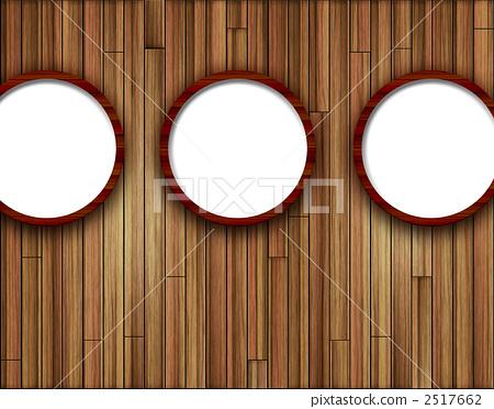 古代圆窗简笔画