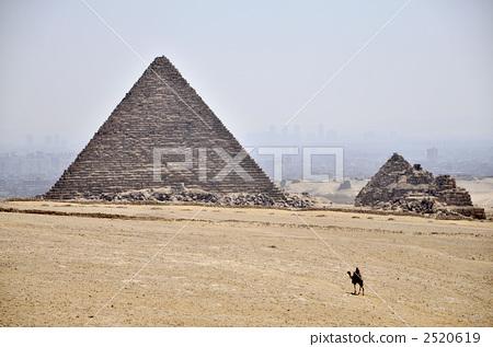 金字塔 大金字塔 吉萨墓地