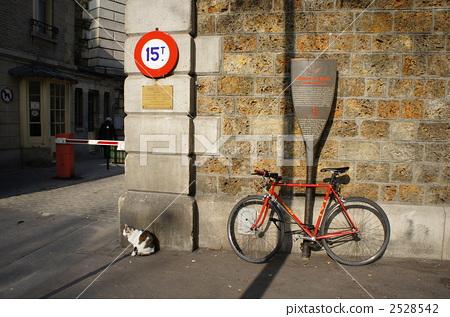 图库照片: 自行车 脚踏车 欧洲