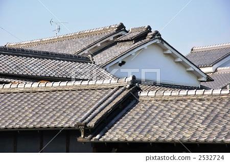 瓦屋頂 日式房屋 傳統建筑-圖片素材 [2532724]