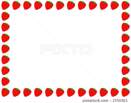 蔬菜_食品 水果 草莓 插图 框架 帧 边框 首页 插图 蔬菜_食品 水果