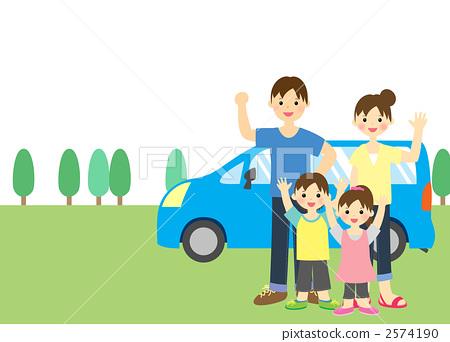儿童 孩子 父母和小孩