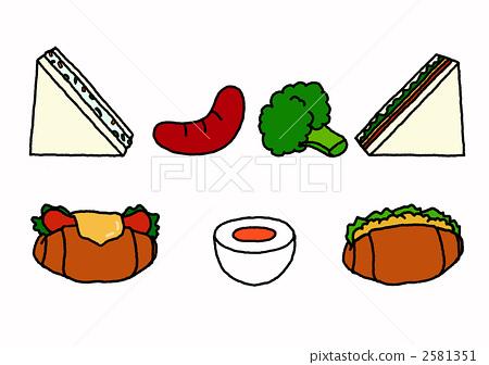 图库插图: 食品 食物 西兰花