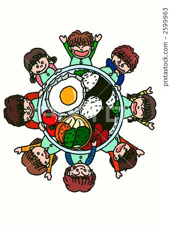 小饭团 stock 插图 - pixta