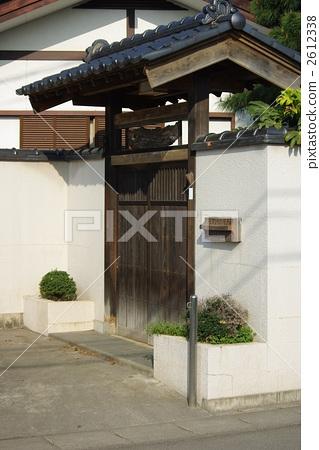门 大门 日式房屋