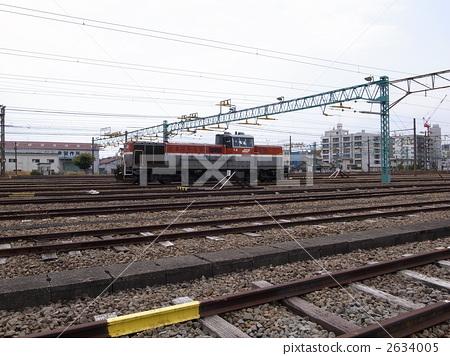 图库照片: 电机 东海道本线 货运