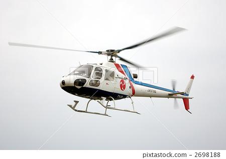 直升飞机 直升机 盘旋