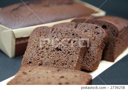 糕点 西式甜点 磅饼图片