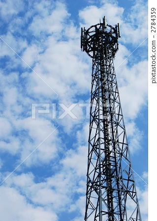 照片: 无线电塔 天线杆 电缆塔