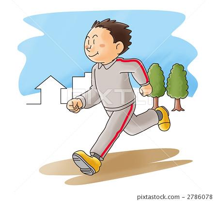 首页 插图 运动 减肥/健身 跑步 运动 奔跑 健身  *pixta限定素材仅在