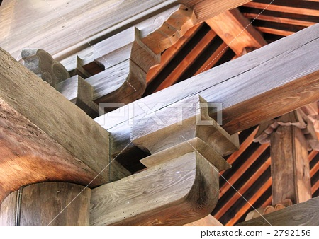 照片: 木框 木结构 传统建筑