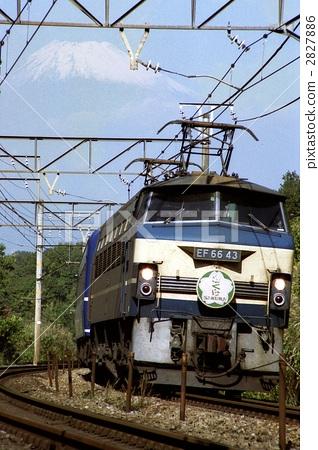夜间列车 电机 东海道本线