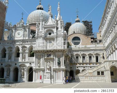 圣马可大教堂 大教堂 圣马可广场