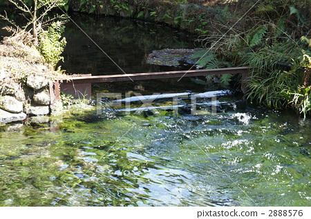 方明源泉 水源 河流源头
