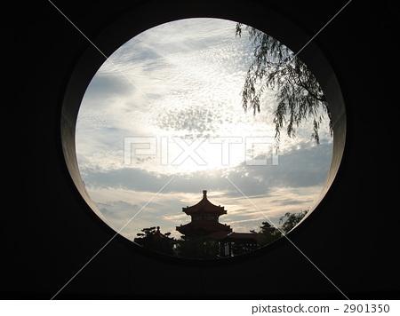 圆窗 炮眼 中国园林