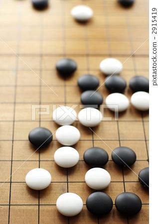 游戏 宾戈游戏 围棋子 围棋盘 棋盘游戏  *pixta限定素材仅在pixta
